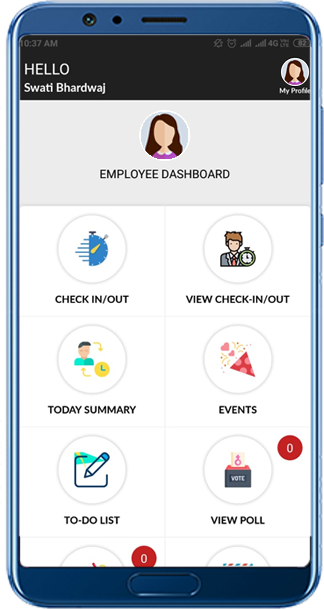 Employee Attendance System Application